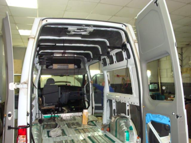 Самостоятельное переоборудование микроавтобусов