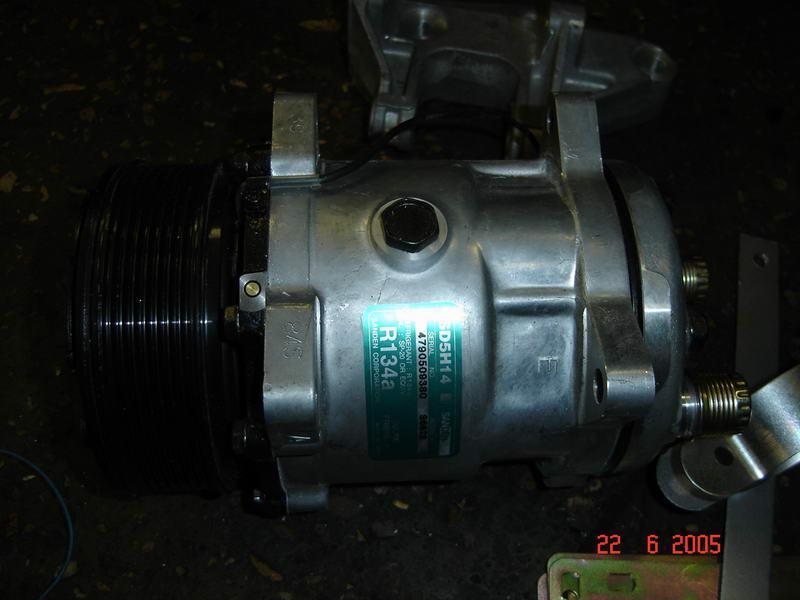Установка кондиционер ВАЗ 2110